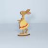 Kép 2/2 - Nyuszi lány kreatív csomag - kicsi, talpas, 7,9x15,3cm, natúr