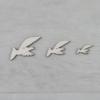 Kép 2/2 - Galambok dekor csomag - szálló, 10 db-os, natúr