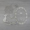 Kép 3/5 - Halloween kreatív csomag - Cicus, kb. 21,5x30cm