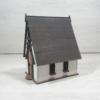 Kép 7/10 - Tündérház kreatív csomag - törpelak, 21cm, natúr