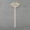Kép 2/2 - Kellemes Húsvéti Ünnepeket beszúrós tábla - 10cm-es beszúróval, natúr