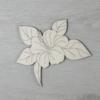 Kép 1/2 - Hibiszkusz levéllel, 1 virágos - 10cm, natúr