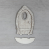 Kép 1/2 - Ajtó, 'Mandula' - 11,2cm, natúr