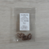Kép 2/2 - Szerelőkarika, ovális - vörösantik, 7,3x12x1,2mm, 10db