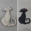 Kép 1/2 - Sunyi cica - 10cm, natúr