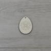 Kép 2/4 - Tojás csomag, díszes - 3 féle, 6cm, natúr