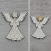 Kép 1/2 - Angyal, imádkozó 2 - 8cm, natúr