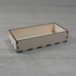Doboz tető - 11,5x6-os dobozhoz, natúr