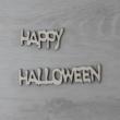 Happy Halloween felirat