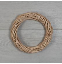 Vesszőkoszorú - natúr, 15cm