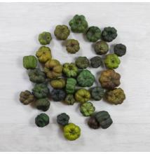 Vesszőkoszorú - szürke, 20cm