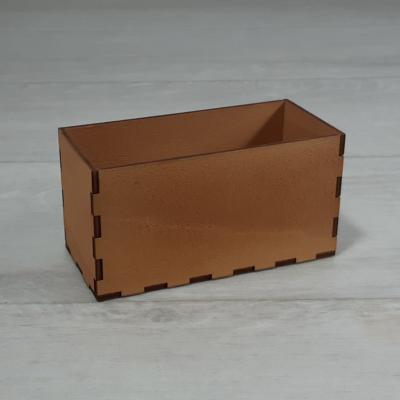 Doboz - 11,5x6cm, 6,5cm magas, festett