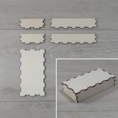Doboz tető, lapraszerelt - 11,5x6-os dobozhoz, natúr