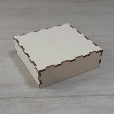 Doboz tető - 11,5x11,5-ös dobozhoz, natúr