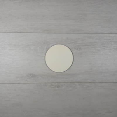 Kör alakú tábla - 3cm, natúr