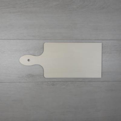 Vágódeszka alakú tábla - 23x10, natúr
