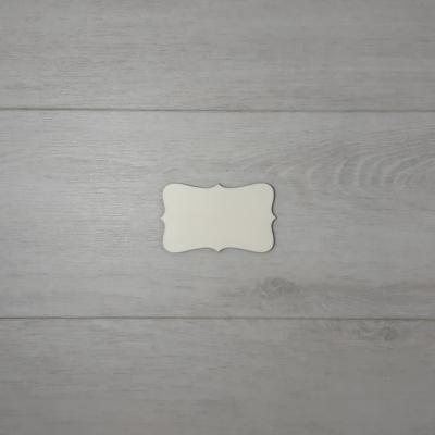 Vertex tábla - 6x3,2cm, natúr