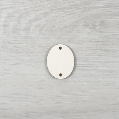 Függőleges ovális tábla családi naptárhoz - 3x3,7cm