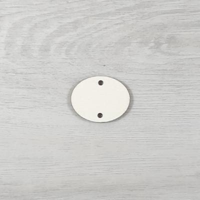 Vízszintes ovális tábla családi naptárhoz - 3,3x2,8cm