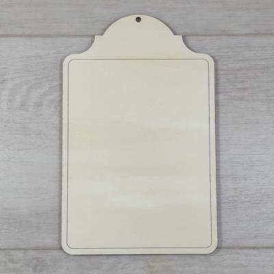 Western tábla - 12,7x20cm, natúr