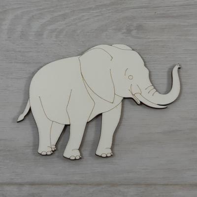 Elefánt - 12,5cm, natúr
