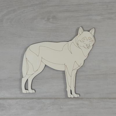 Farkas - 11cm, natúr