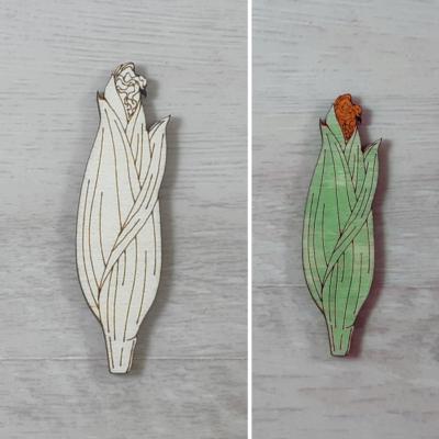 Kukorica, zárt - 4cm, natúr