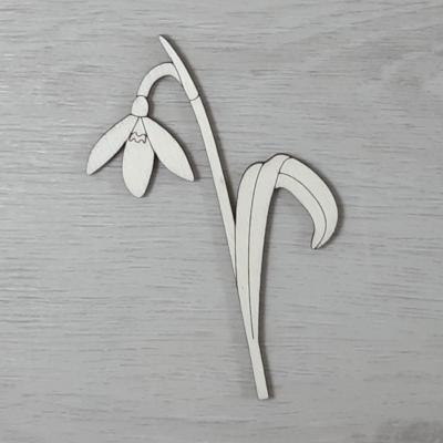Hóvirág 1 - 10cm, natúr