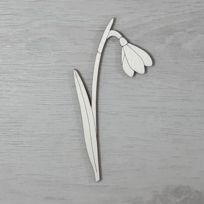 Hóvirág 2 - 10,5cm, natúr