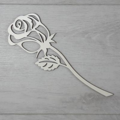 Rózsa 2 - áttört, 20cm, natúr
