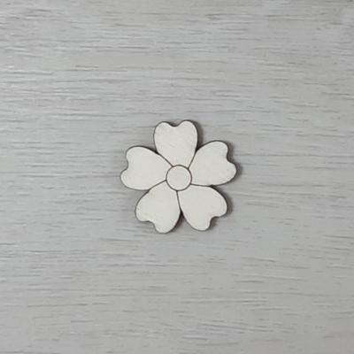 Kankalin virág - 3cm, natúr