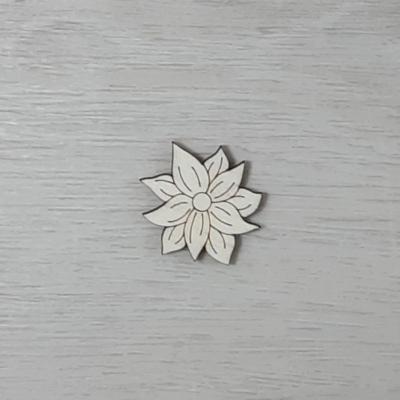 Orbáncfű virág - 3cm, natúr