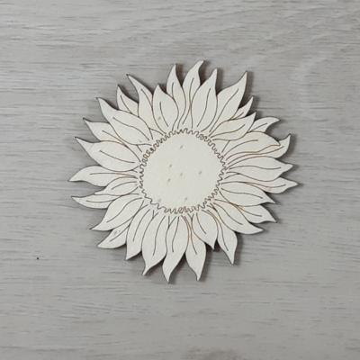 Napraforgó virág 1 - 7,5cm