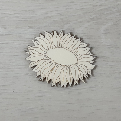 Napraforgó virág 2 - 7cm