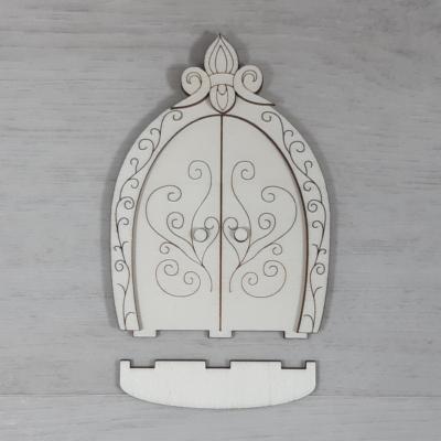 Ajtó, 'Tünde' - 12,7cm, natúr