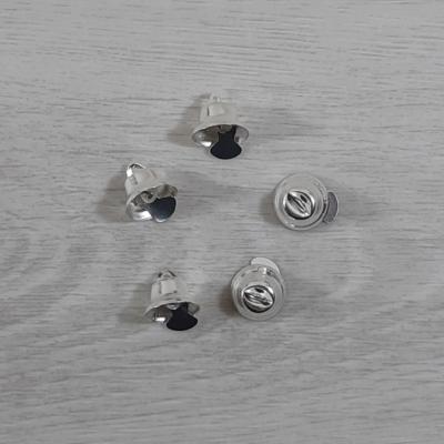 Harang - 14mm, ezüst, 5db