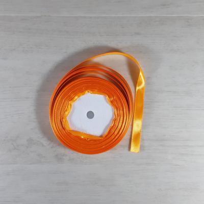 Szatén szalag - 10mm-es, narancs