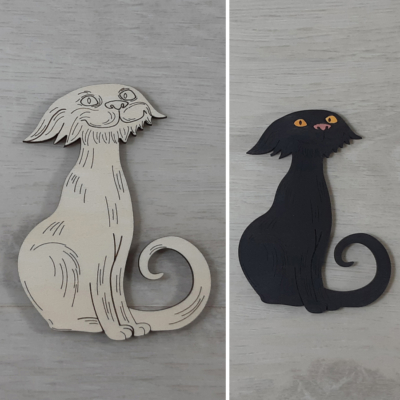 Sunyi cica - 10cm, natúr