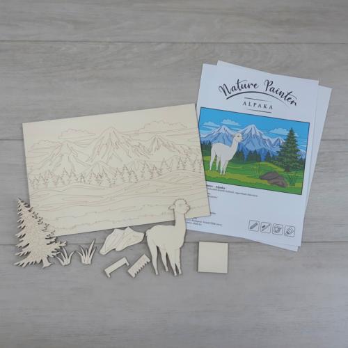 Alpaka - Nature Painter kifestő csomag, 30x20cm