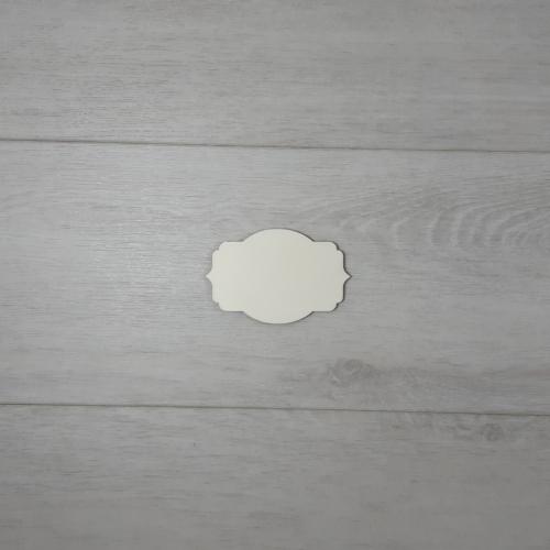 Sunny tábla - 6x3,9cm, natúr