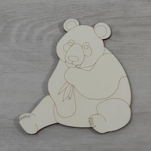 Panda - 12,5cm, natúr
