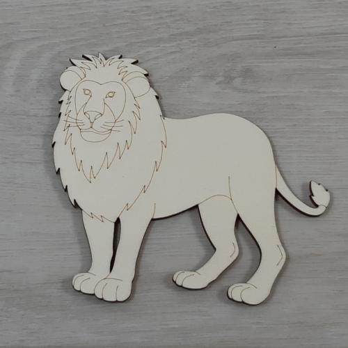 Oroszlán - 12,5cm, natúr