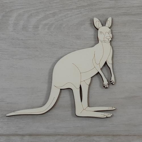 Kenguru - 12,5cm, natúr