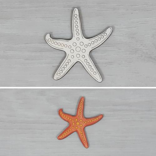 Tengericsillag - 6cm, natúr