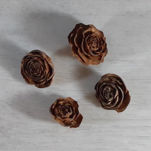Cédrus rózsa - natúr, 4db