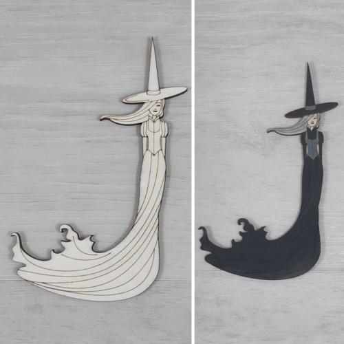 Boszorkánylány - 12cm, natúr