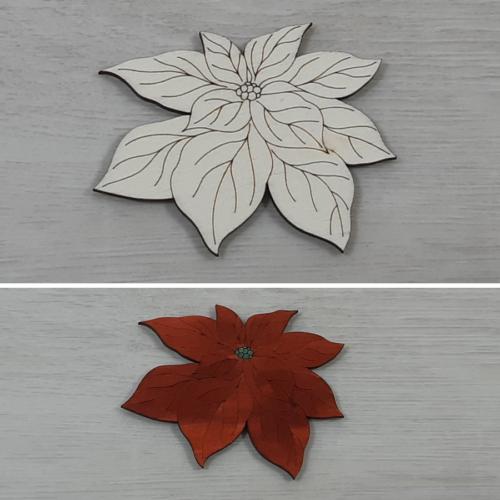 Mikulásvirág - 8cm, natúr
